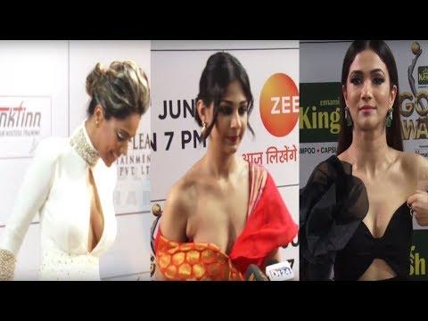 ऐसे कपडों में आपने पहले कभी नहीं देखा होगा इन हीरोइनों को | Actresses at Red Carpet thumbnail
