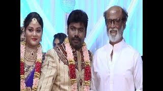 SuperStar RajiniKanth@Jaguar Thangam son Vijaya Jaguar's wedding Reception