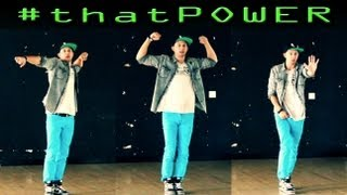 #thatPOWER - Will.i.Am ft Justin Bieber | Dance TUTORIAL @MattSteffanina Choreography @JustinBieber