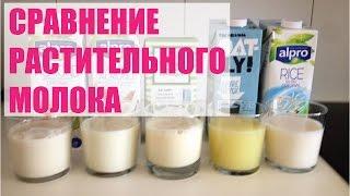 Сравнение растительного молока на вкус и вспенивание
