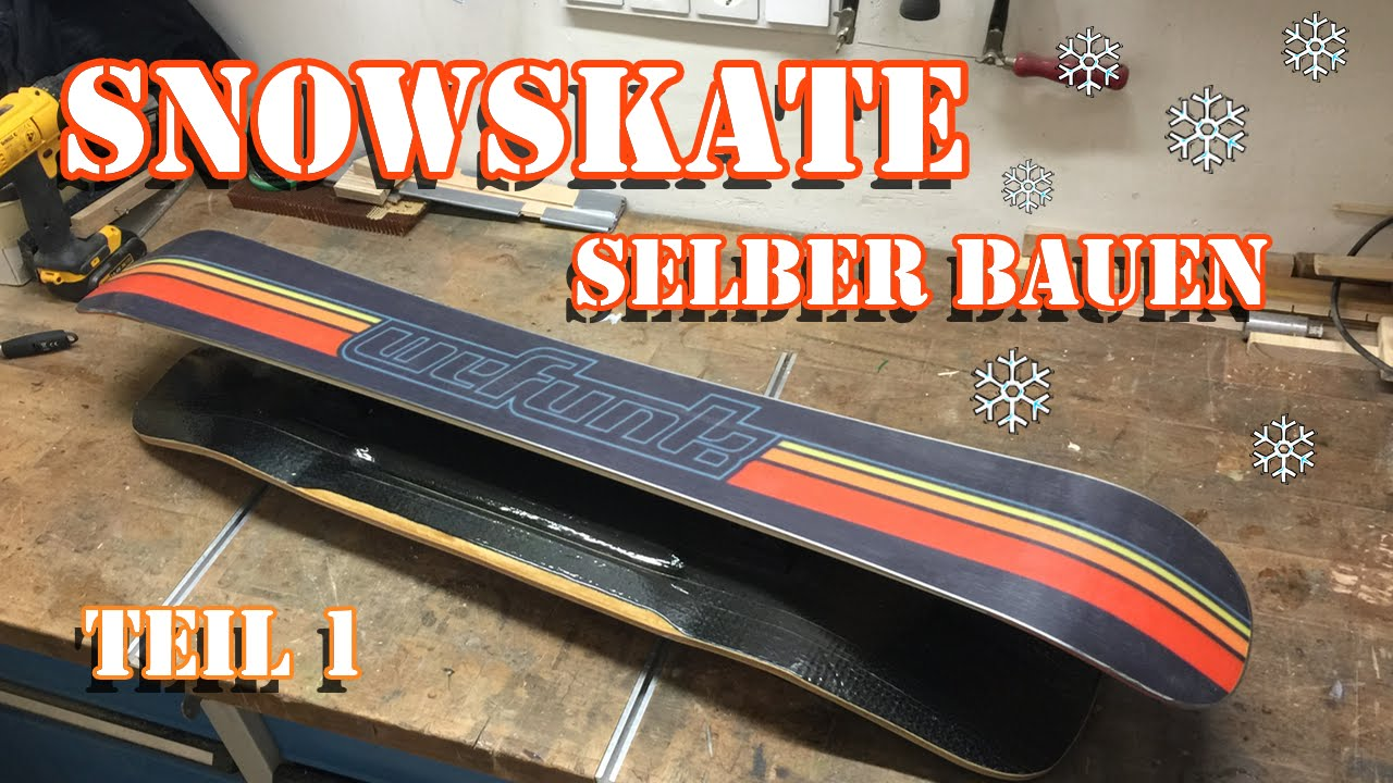 snowskate longboard deck selber bauen teil 1 form. Black Bedroom Furniture Sets. Home Design Ideas