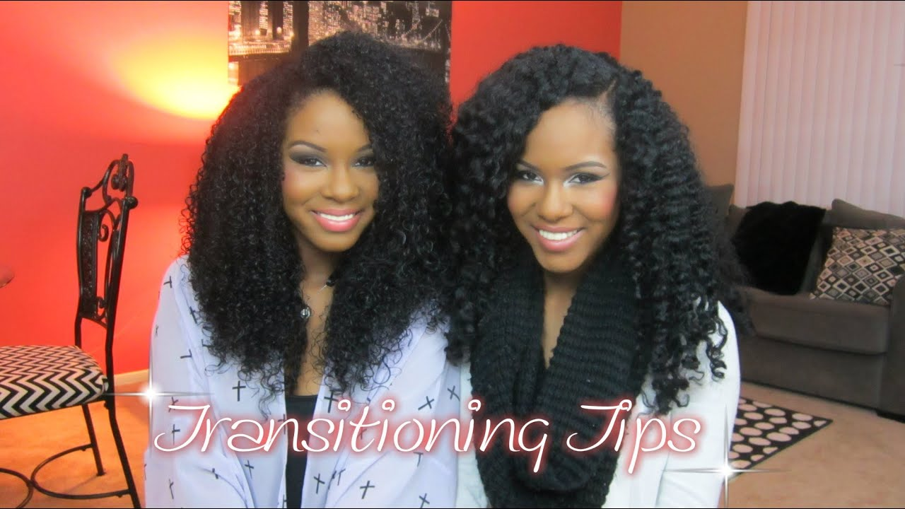 How We Transitioned From Relaxed to Natural Hair  YouTube