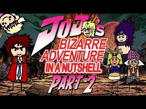 jojo's-bizarre-adventure-part-2:-battle-tendency-in-a-nutshell