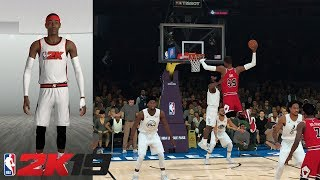 """7'7"""" Point Guard in NBA 2K19!!!! This Breaks the Game!!"""