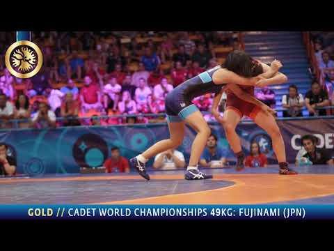 Gold medal matches women's wrestling 43 - 49 - 57 - 65 - 73 kg