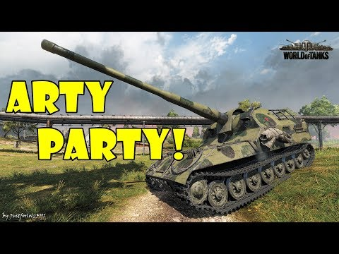 World of Tanks - Funny Moments   ARTY PARTY! #59