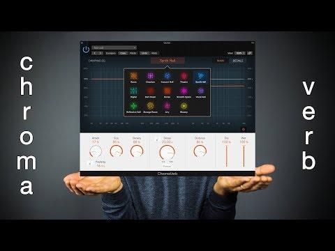 Logic Pro 10.4 ChromaVerb - The Ambient Guitarist's Friend!