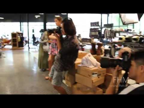 เพนนี GND  อวดสัดส่วนชวนฝันในคลิปเบื้องหลังสุดซี้ด!   FHM Thailand
