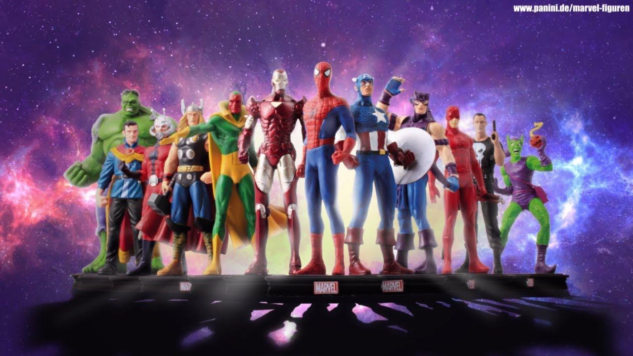Marvel Universum Figuren Kollektion Deine Marvel Helden