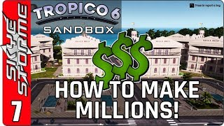 Tropico 6 - Unlocking the Secrets Part 7 ◀ HOW TO MAKE MILLIONS! - THE CAYMAN ISLANDS EXPLOIT ▶