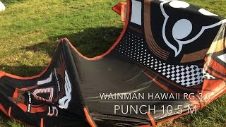 Kite Wainman Hawaii Punch 10,5 m RG 3.0 - quick overview