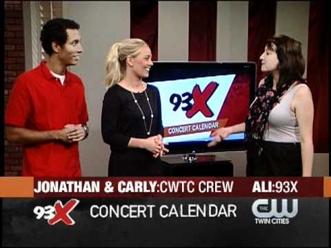 93X Concert Calendar w/Ali 10 12