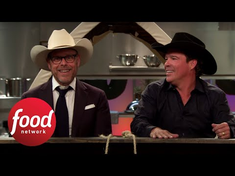 Alton\'s Cutthroat After-Show: Cowboy Cooking | Food Network - YouTube