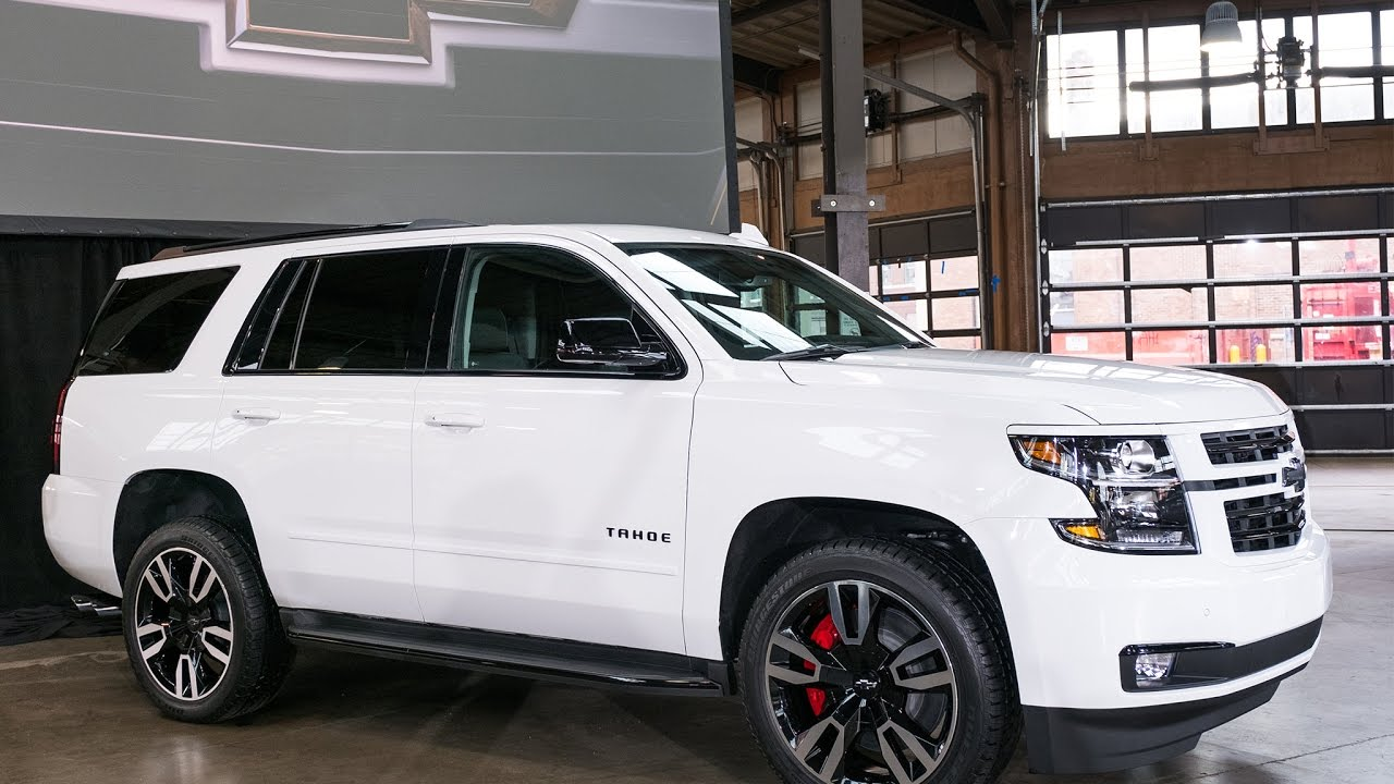 2018 Chevrolet Tahoe RST - 2017 New York International ...