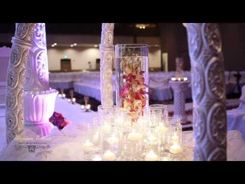 Amazing Elephant-Tusk Style Indian Wedding Mandap