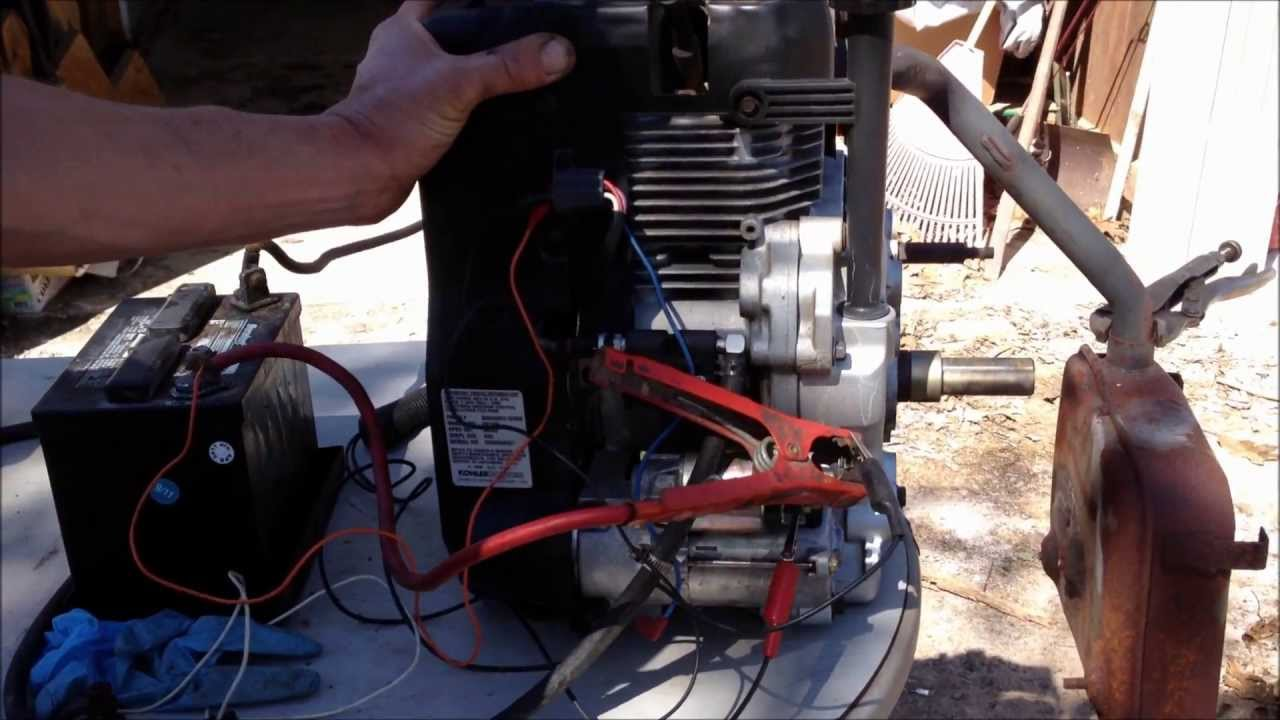 Kohler 15 Hp Wiring Diagram Modern Design Of Engine Wire Harness Youtube Rh Com Electrical