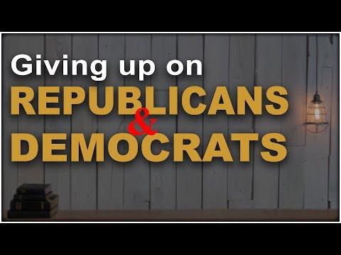 Republicans and Democrats, The Reason I gave up on Washington politics