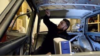 видео Потолок ваз 2106, 2107, 2101, 2102 (замена обшивки)