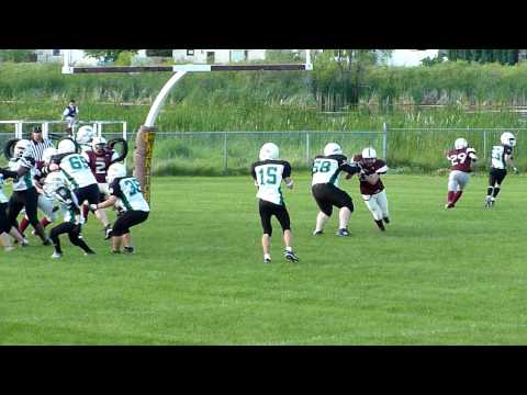 Genung quarterback sack