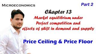 Price Ceiling and Price floor microeconomics- market equilibrium