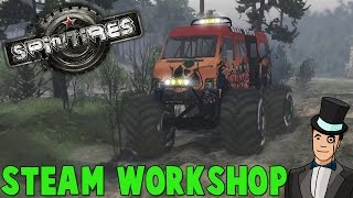 Spintires Steam Workshop Overview - How To Install Truck Mods