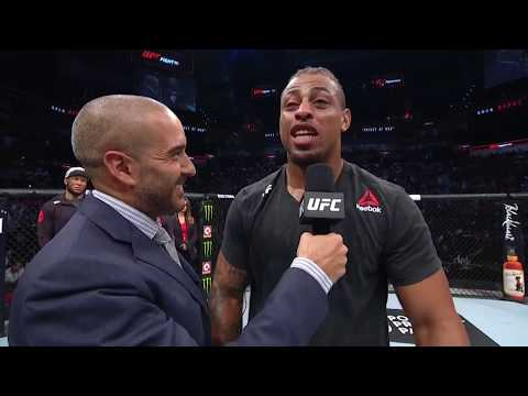 UFC San Antonio: Greg Hardy Octagon Interview