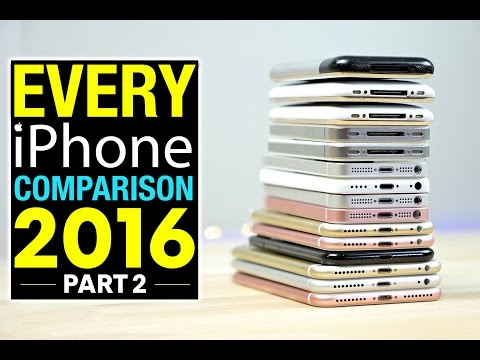 Thumbnail: Every iPhone Speed Test Comparison 2016 PART 2!