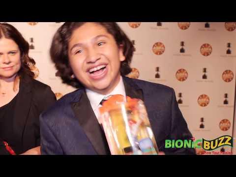 Anthony Gonzalez Interview at Annie Awards 2018