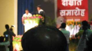 1st Convocation Ceremony 2009 - Sri Sainath Post Graduate Institute of Homoeopathy -Allahabad