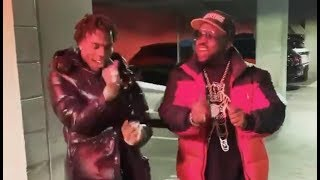 Lil Baby Teaches Big Boi How To Do The Woah Dance