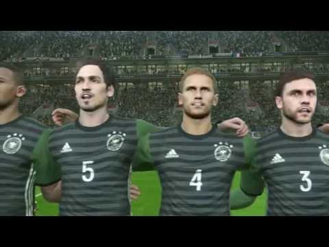 PES 2017 Demo: France - Germany Gameplay Showcase (XBox One recorded with Avermedia)