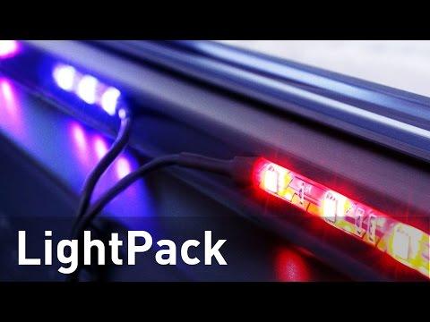 Lightpack - обзор умной подсветки для монитора