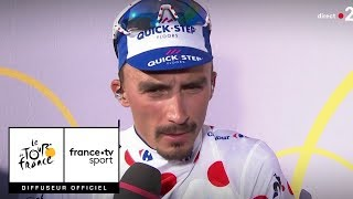 Tour de France 2018 : Alaphilippe s'est