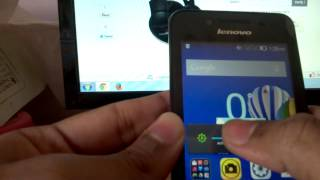 32) Lenovo a319 rocstar music smartphone user interface