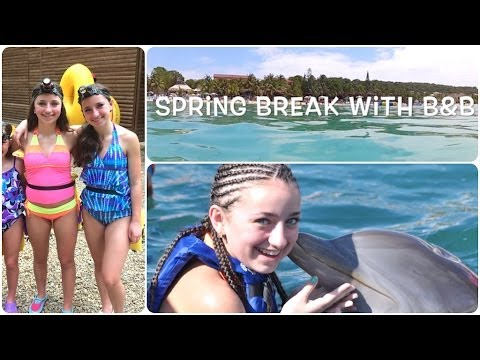 Spring Break with Twins Brooklyn and Bailey
