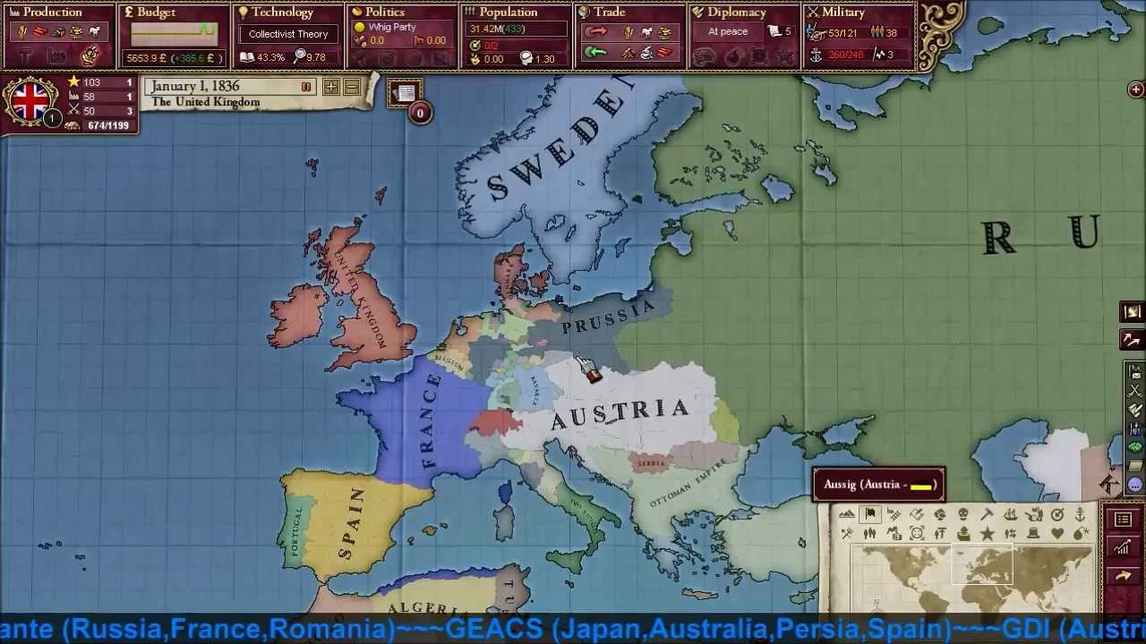 New Victoria 2 Multiplayer Coalition Wars
