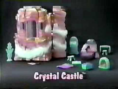 VINTAGE 80'S SHERA CRYSTAL CASTLE COMMERCIAL WITH CHRISTIE CLARK