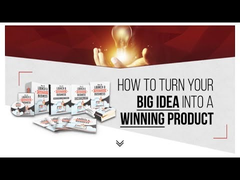 HOW TO TURN YOUR BIG IDEA INTO A WINNING PRODUCT - Free Webinar