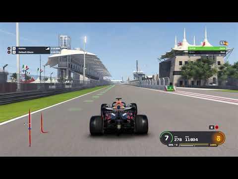 F1 2019 PC Gameplay - Aston Martin Red Bull (Bahrain Map)