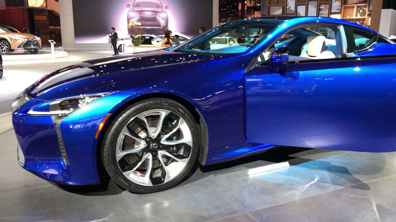 Lexus LC Structural Blue - YouTube