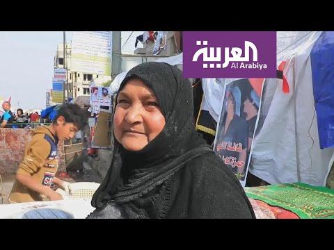 هذه قصة -أم الثائرين- التي تقدم الخبز الساخن مجانا للمتظاهرين العراقيين  - 18:59-2020 / 1 / 19