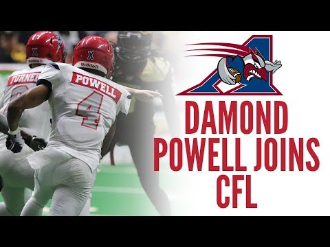 Damond Powell Signs With CFL