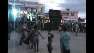 Aldea la Esperanza, Totonicapán. Baile de disfraz 2 de febrero 2013