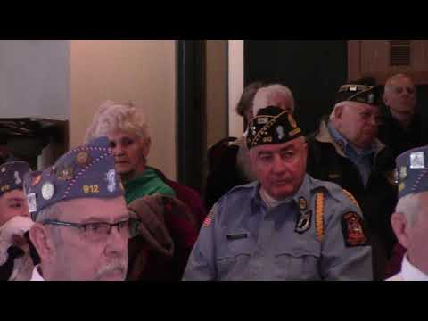 Veterans Day at American Legion #912  11-11-19