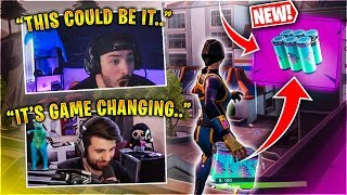 *NEW* CHUG SPLASH! GAME CHANGING FORTNITE ITEM! Feat. SypherPK