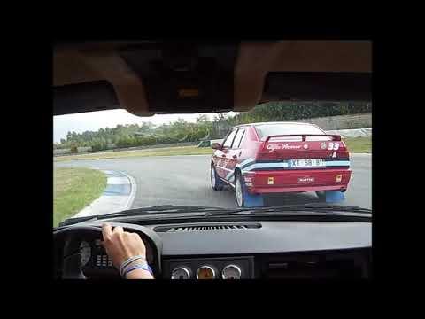 Alfa Romeo 33 S16v Quadrifoglio Verde @ Track