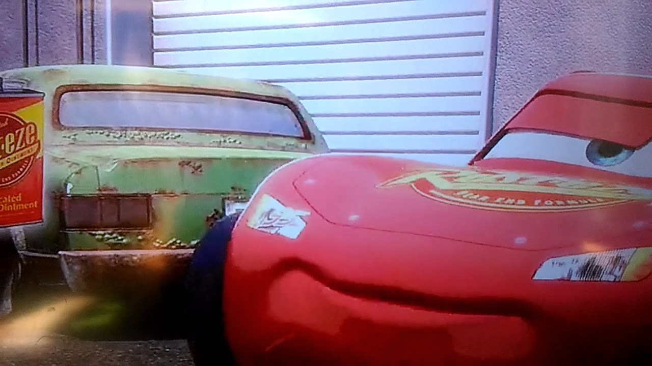 Cars Rust Eze Medicated Bumper Ointment With Lightning Mcqueen