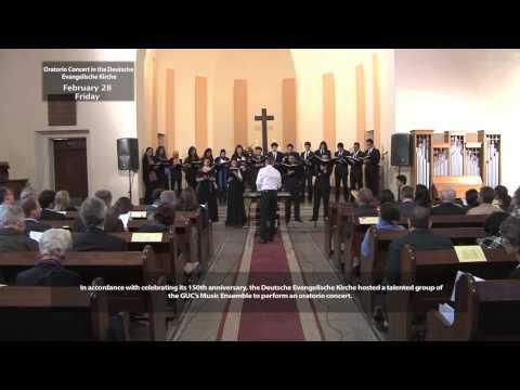 Oratorio Concert in the Deutsche Evangelische Kirche