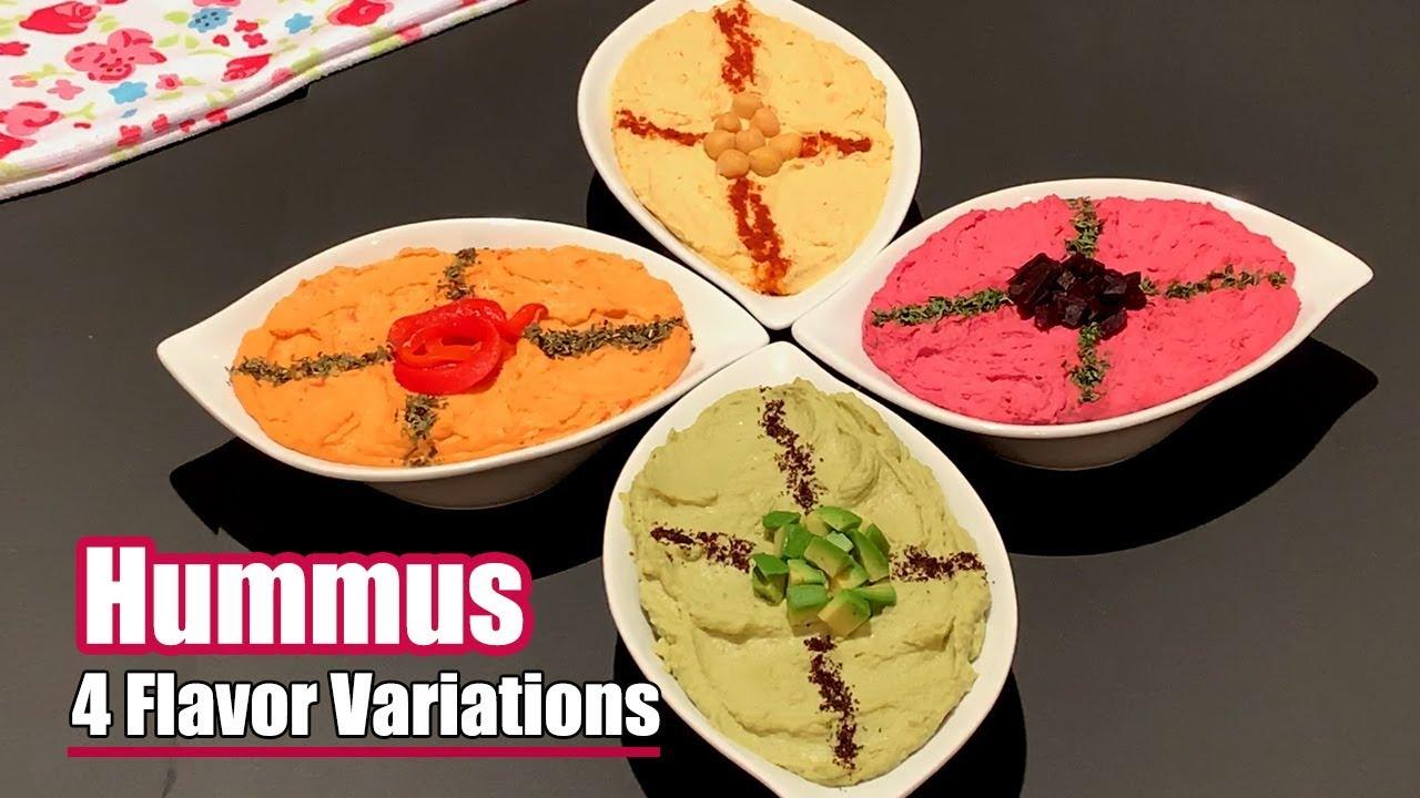How to Make Perfect Hummus 4 WAYS