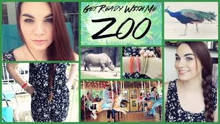 Get Ready With Me: A Day at the Zoo! (Makeup, Hair, + Outfit)